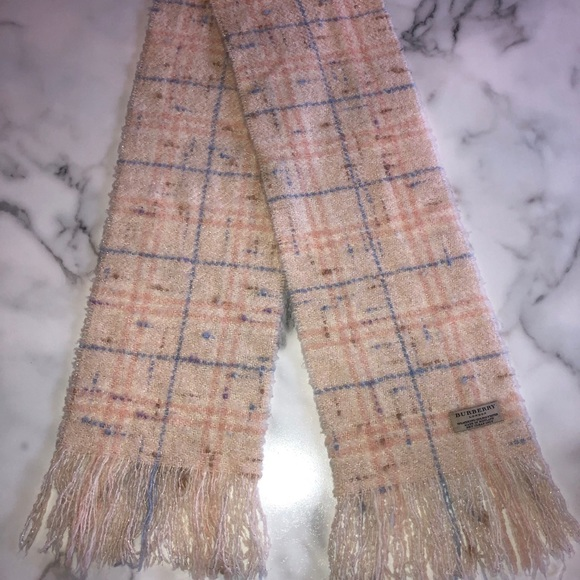 Authentic Burberry scarf! Never worn!